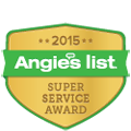 Valley Plumbing Earns Esteemed 2015 Angie's List Super Service Award